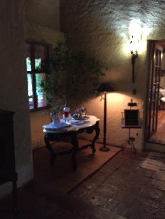 Hotel Entre Viñas : Vista desde el jardín