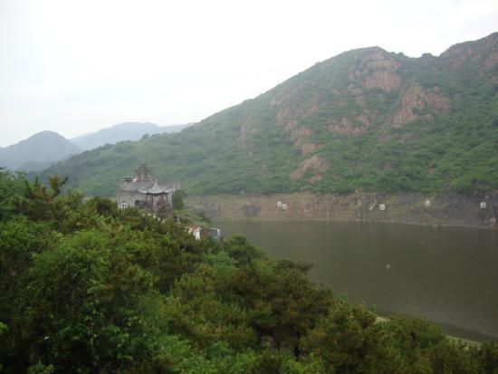 Yansai Lake: Vista dalla funivia