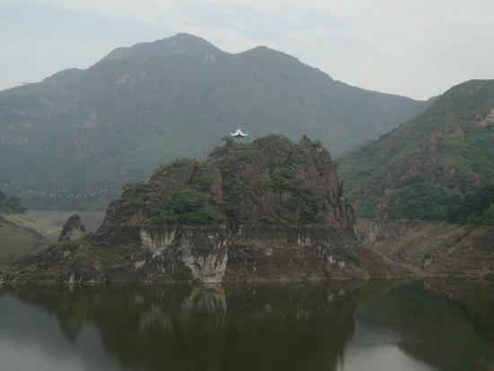 Yansai Lake: Penisola del lago