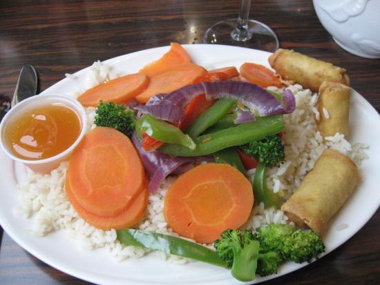 Sailor's Landing Restaurant: vegetable stir fry