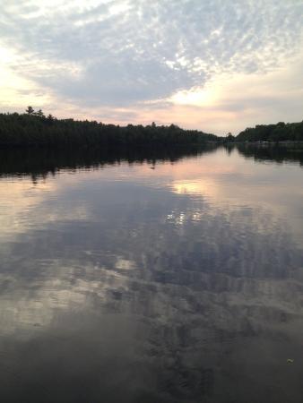 Magnetawan, Canada: After dinner view...enjoy!!!