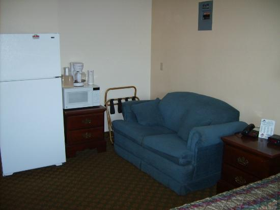 Americas Best Value Inn & Suites : Used sofa