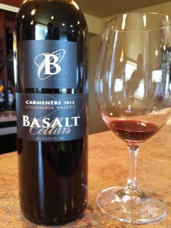 Basalt Cellars Winery: The Carmenere.