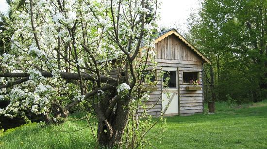Denbigh, Canada: Wood shed