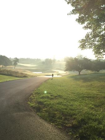 Keswick Hall: Beautiful morning sunrise