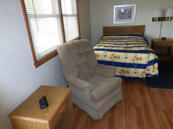 Skyline Motel: Comfortable chair in the room