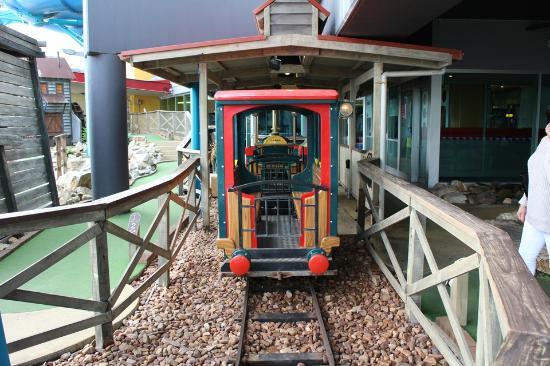 The Beachouse: Mini Train