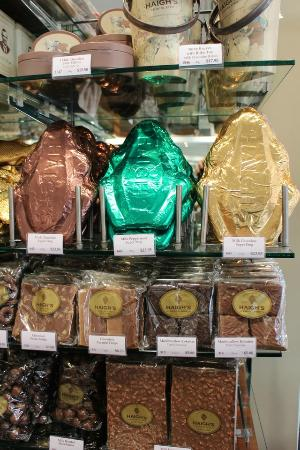 Haigh's Chocolates Glenelg: Something for the grand kids when they are not with you