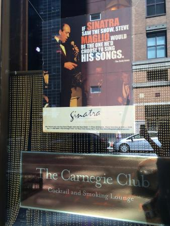 Carnegie Club : details of the show