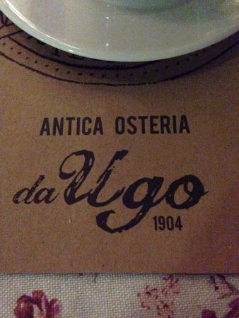 Antiqua Osteria Da Ugo