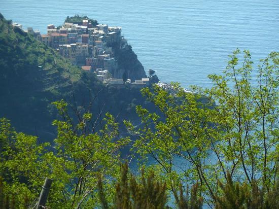 Volastra, อิตาลี: Blick auf Manarola