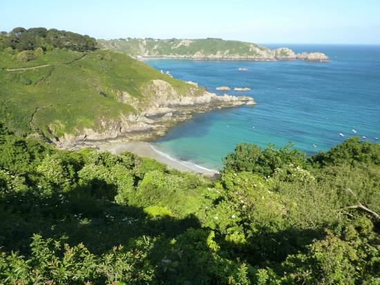 Saints Bay Hotel: The nearby bays and cliffs are superb