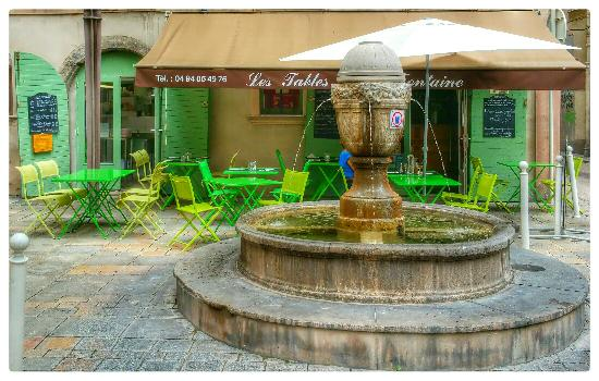 Restaurant Les Tables De La Fontaine A Toulon Picture Of Les