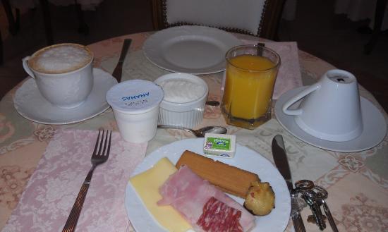 Residenza al Corso: завтрак