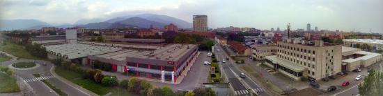 AC Hotel Brescia: Вид из номера отеля