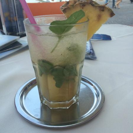 Jacky Bar : passionfruit mojito