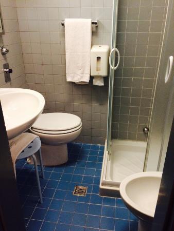 Hotel Roxy: bagno e camera