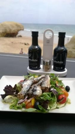 Praia Da Gale Restaurante: amazing sardine salad
