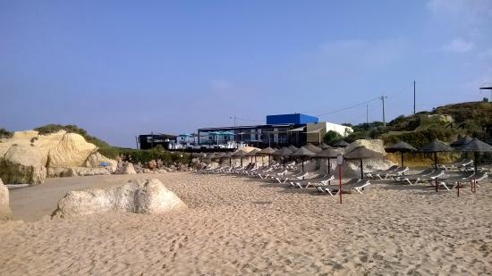 Praia Da Gale Restaurante: beach lunch venue