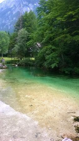 Alpik Apartments at Lake Bohinj: River Slap Savica