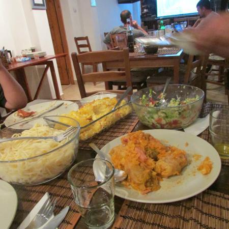 Vila Vitalis: what left from the dinner