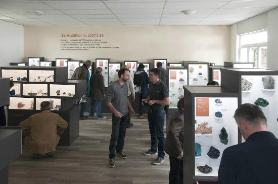 Musee des Mineraux : Le Mange Cailloux