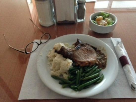Baker Lake, Canada: Pork dinner