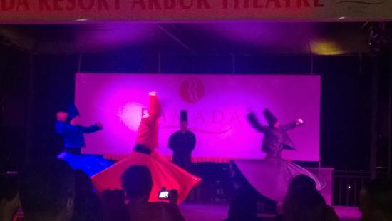 Ramada Resort Akbuk: Türk gecesinden bir kare