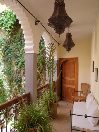 Riad Kalila: Terrasse côté chambre clair de lune