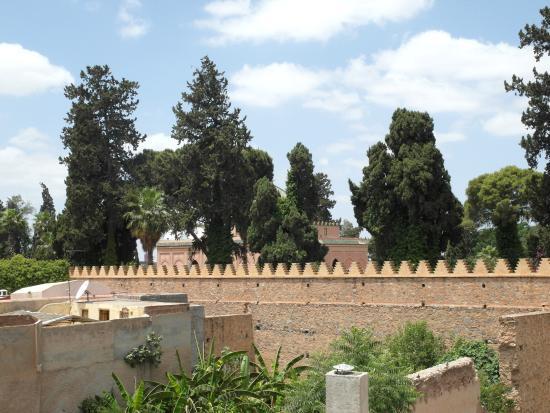 Riad Kalila : Quartier verdoyant