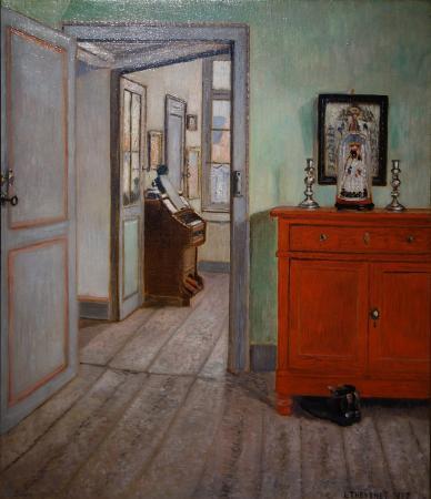 Musee des Beaux-Arts d'Ixelles: Louis Thevenet: L'Harmonium