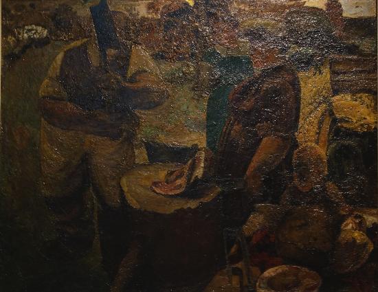 Musee des Beaux-Arts d'Ixelles: Constant Permeke: Le Boucher ou L'Abbateur