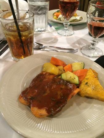 Agatha's Mystery Theater: Fish dishes at Agatha's were popular & yummy.