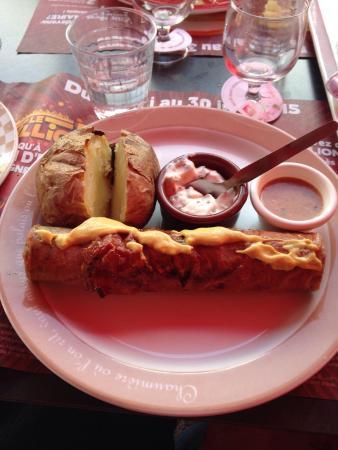 Good lunch in Besancon