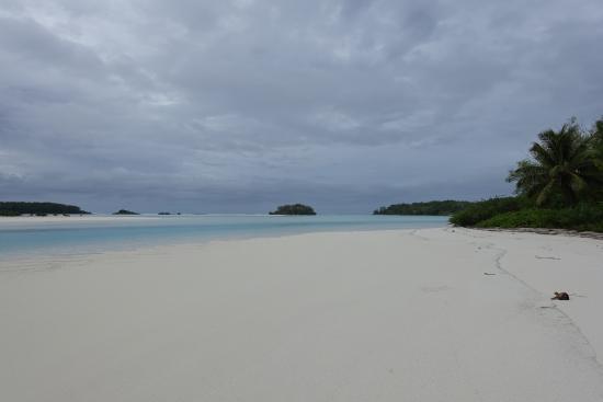 Austral Islands, Polynésie française : Motu piscine