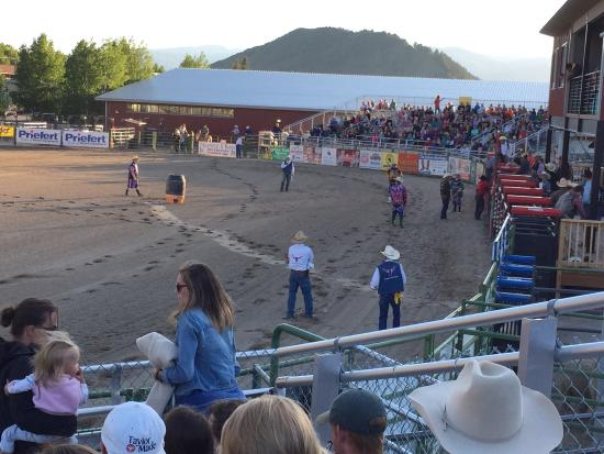 Jackson Hole Rodeo Grounds : Worth every penny- great show it was a wonderful time for the whole family. Funny serious thrill