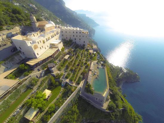 Conca dei Marini, Italia: Aerial view