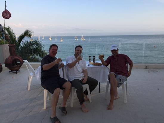 Villa Amor del Mar : roof top BBQ