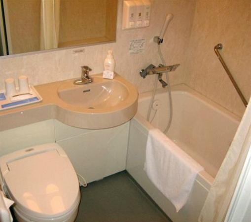 Daiwa Roynet Hotel Kanazawa : La salle de bain