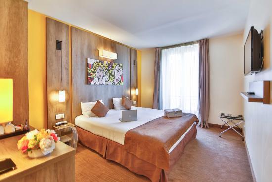 Hôtel Le Seize : Chambre Supérieure - Grand lit double