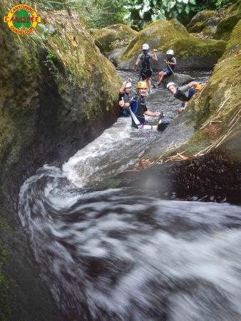 Canopee Guadeloupe Canyoning: Canyon niv 2: Family Adventure