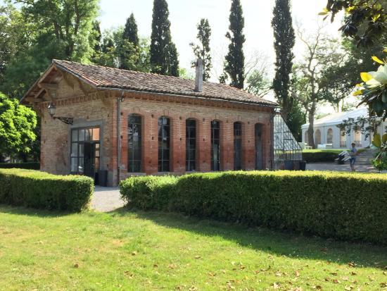 Domaine Saint Martin de Ronsac : l'orangerie