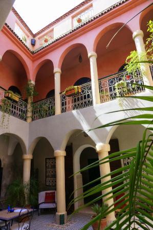 Riad Merstane : Patio / Courtyard