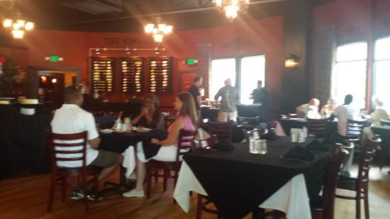 Joe's Steakhouse: Prime rib station