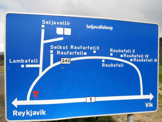 Skogar, ไอซ์แลนด์: Orientation: how to reach Seljavallalaug