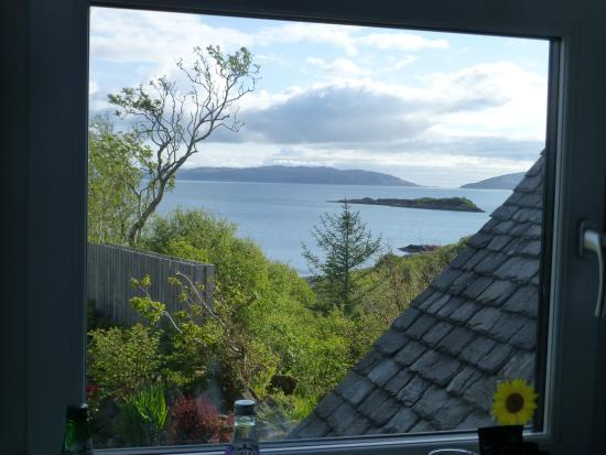 Corrie House B&B: View from our window