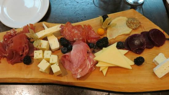 The Joint Cafe: Charcuterie platter - delicious