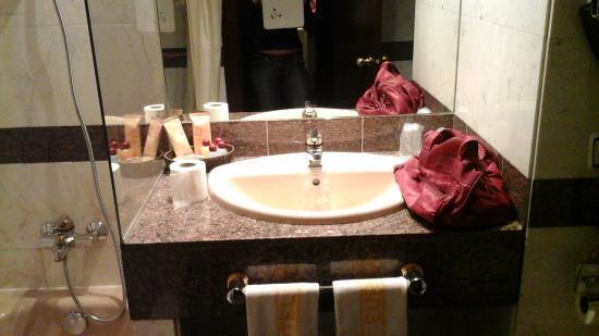 Zenit Diplomatic Hotel: salle de bain
