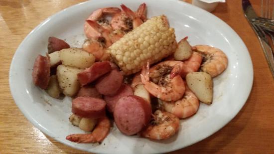 The Waterfront Restaurant: Shrimp Boil.