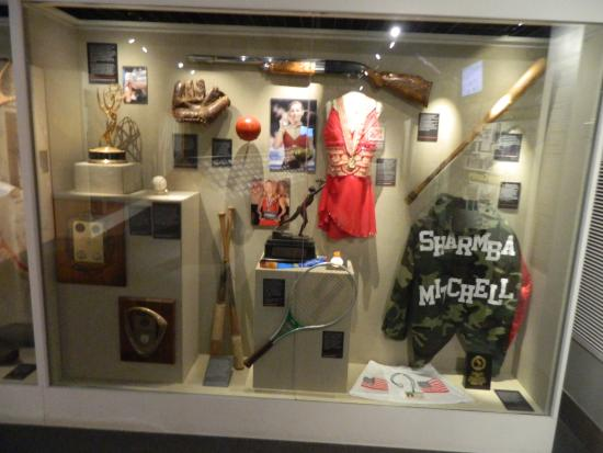 Sports Legends Museum at Camden Yards: olympic items